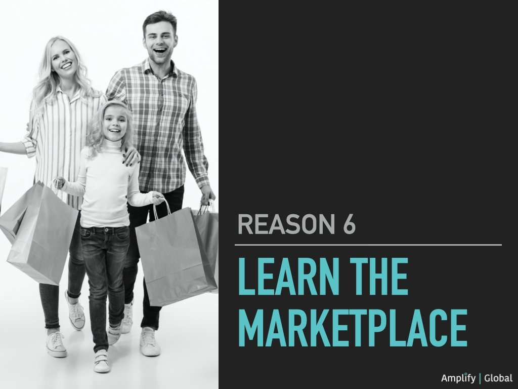 6. Learn The Marketplace